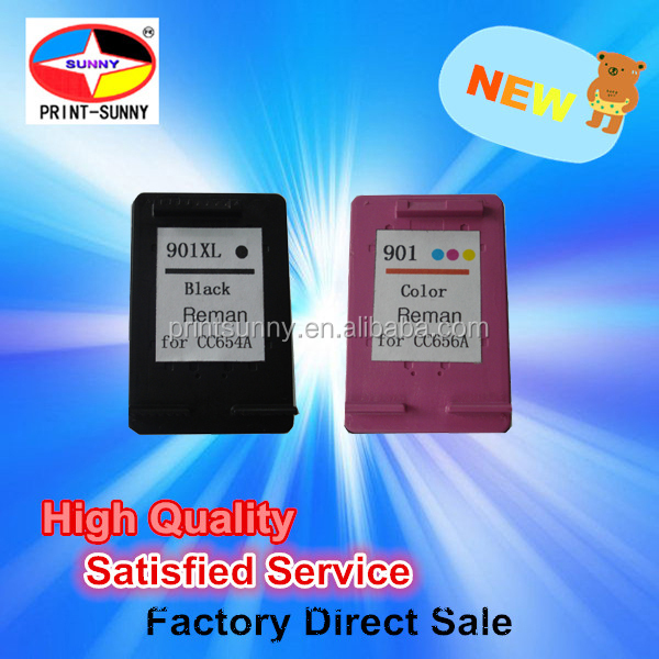 ink cartridge for HP 901 for HP901 XL Ink Cartridge Black Tri-Color