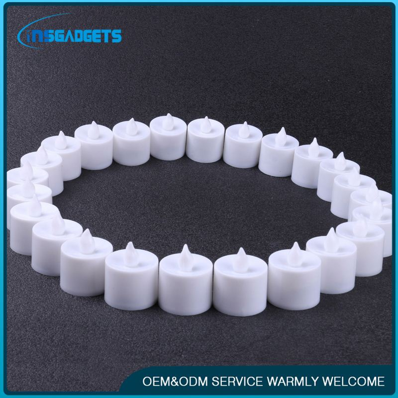 Rechargable led tealight candle ,h0trg remote control flameless led candles for sale