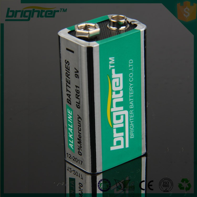 maintenance free batteries 9v dry cell battery 9v battery