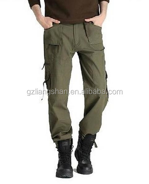 Hot outdoor camo military trousers pants 6 pocket designer cargo pants
