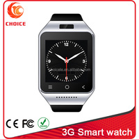 Wholesale 3G Android 4.4 wifi wrist lady hidden camera watch cell phone