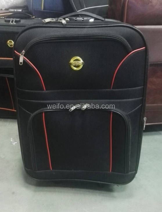 polyester 3 pcs luggage and suitcase very cheap