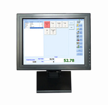 15 inch LCD Touch Screen Monitor for Kiosk System