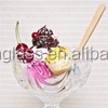 Crystal stem glass/ice cream bowl/jelly cup