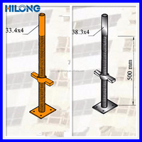 SGS Approved scaffolding hand operated screw jack
