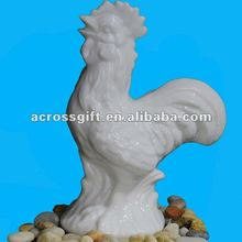 animals chicken porcelain handicraft