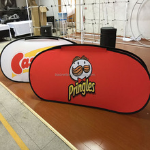 Wholesale pop out fabric banner sign pop up a frame banner display stand