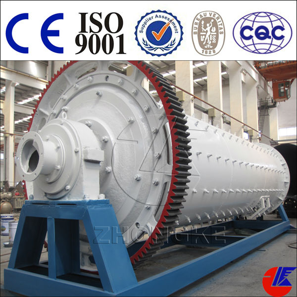 Henan Zhongke Brand dry type tube ball mill for clinker grinding