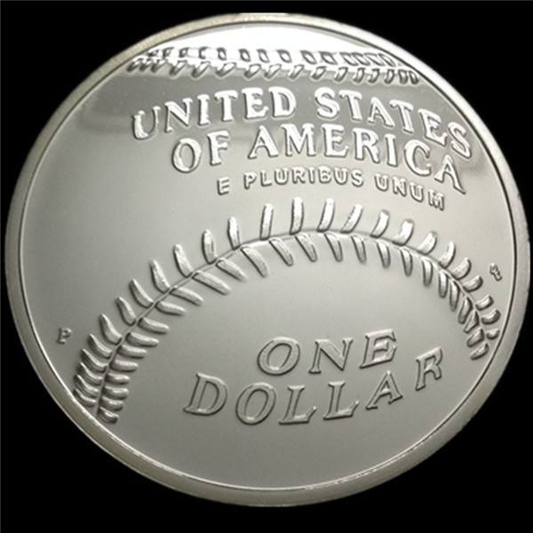 wholesale cheap price custom individual eagle antique silver coins baseball token customized sports coins souvenir gifts