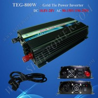 Recommend use DC10.5-28V 1000w solar panel 220v 24v 800w grid tie solar inverter 800w with MPPT function
