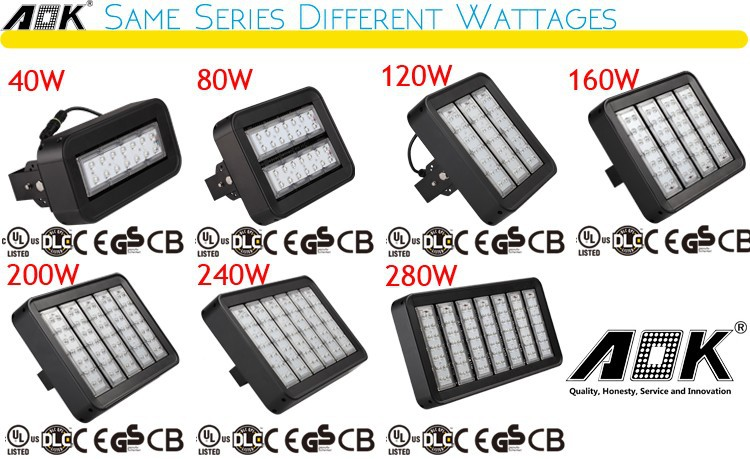 Ultra Slim DC 120w 160w 200w 240w Outdoor Led Flood Light Outdoor