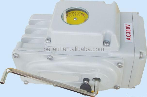 Input signal 4-20mA rotary electric actuator for butterfly valve/electric actuator for ball valve