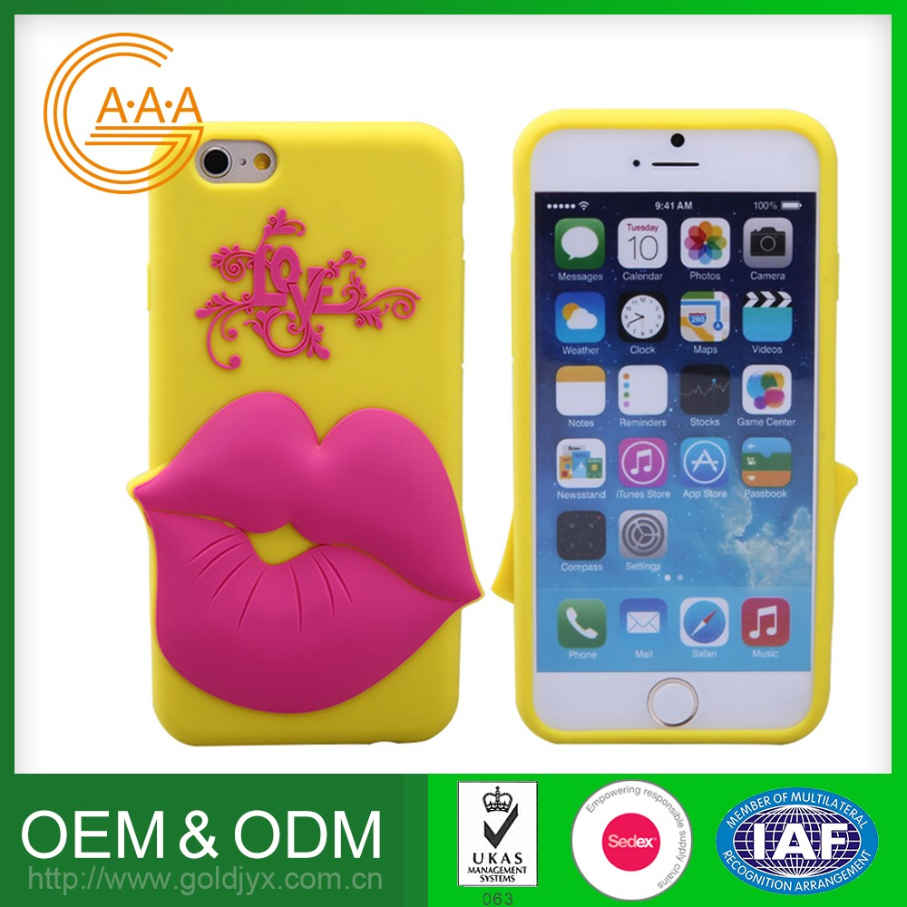 New Stylish Custom Printing Logo Mobile Phone Cover Colorful Custom Design 3D Silicone Mobile Phone Cases