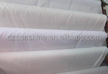 100% Cotton 40x40 133x100 down proof fabric for hotel bed sheet bedding sheets