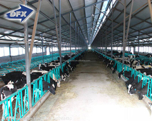 Ready Made Light Steel Structure Farm Shed for Sheep/Cattle/Horse
