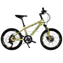 The new suspension high quality children mountain bikes 21speed Unique
