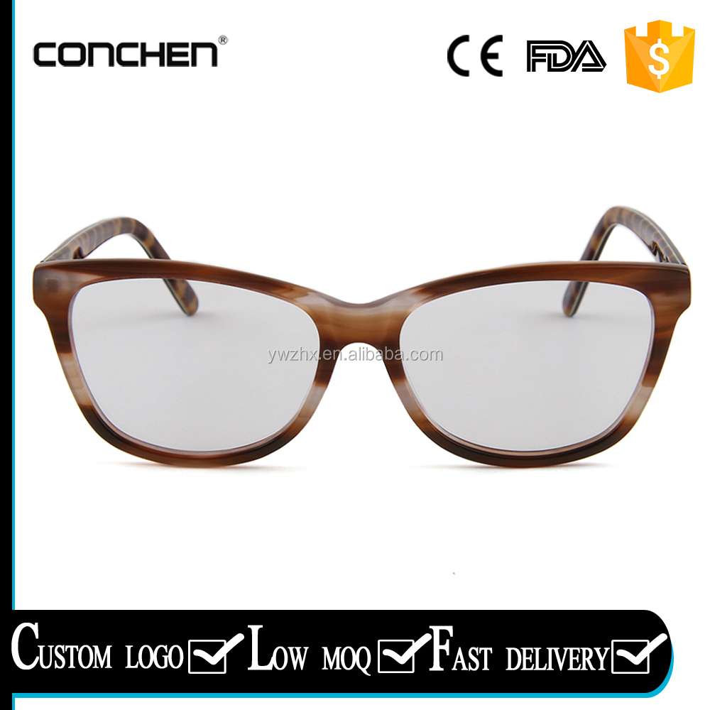European newest sunglasses spring hinge women luxury optical frames yiwu