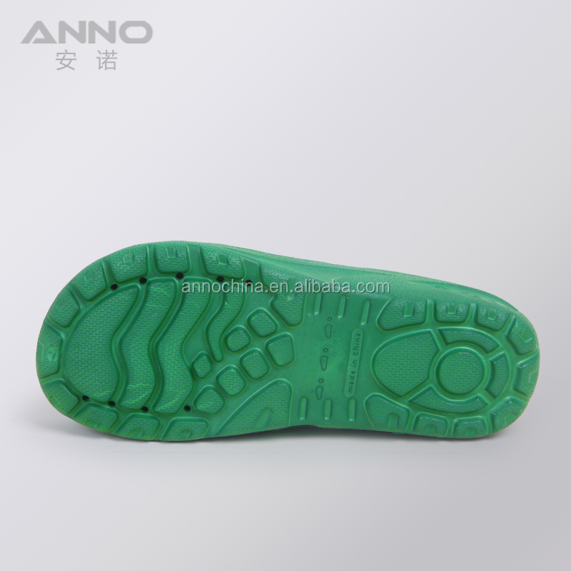 Anno good quality colorful eva anti slip clogs cleanroom shoes