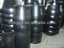 black steel pipe reducer,concentric &eccentric reduceransi b16.9 /b16.48 seamless or weld