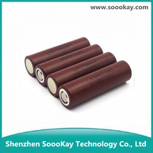 High Quality Authentic Hg2 3000mah Lg Inr18650 3.7v Flat Top Li-ion Rechargeable Battery 18650