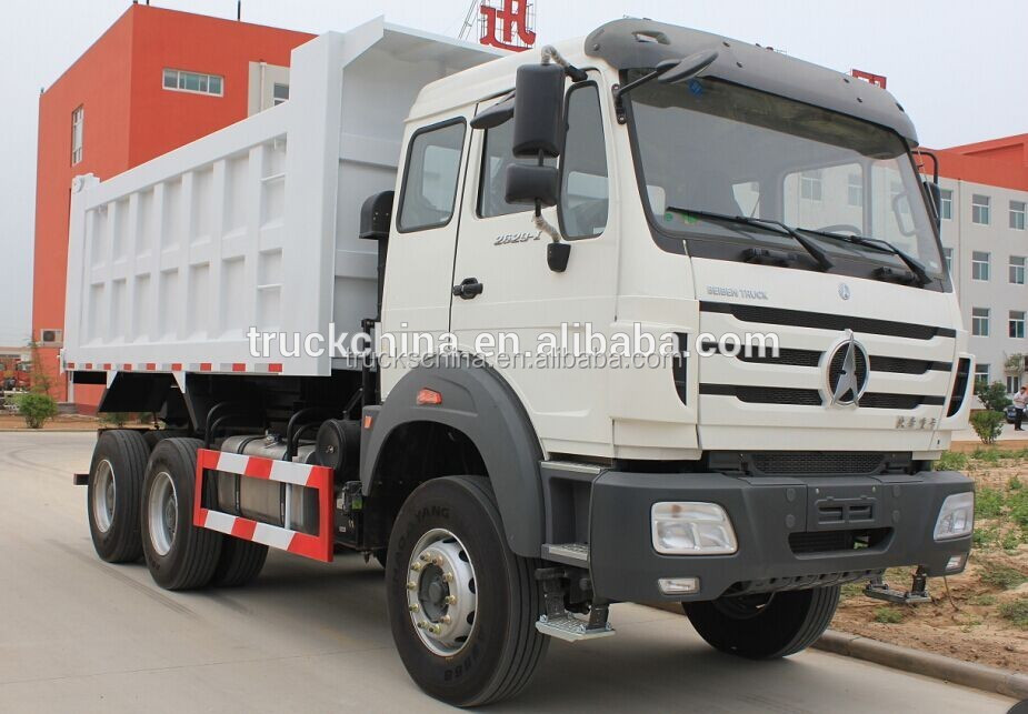 low fuel consumption Beiben hydraulic hoist 20 cubic meters 10 wheel seller of dump truck