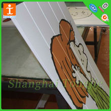 UV Flatbed printing on ABS PVC or Acrylic Board