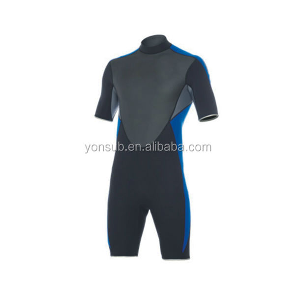 scuba short sleeve diving surfing suit made of neoprene