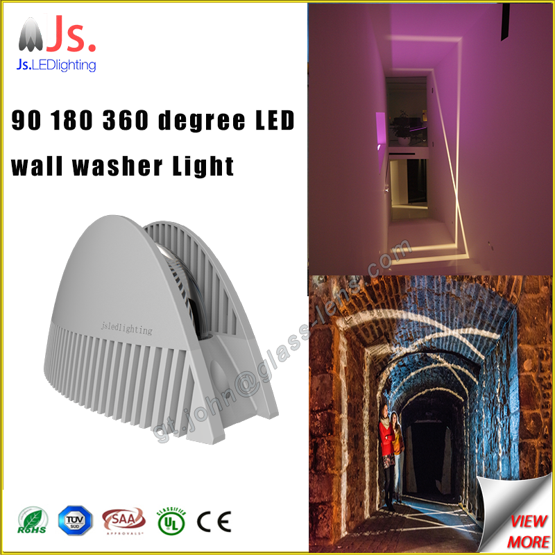 2016 new design waterproof light-blade effect led wall washer light For window passage door decoration