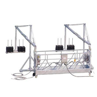 BMU window cleaning equipment electric swing scaffold stage