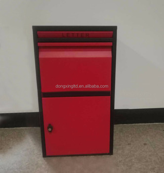 Big Metal Parcel Drop Box