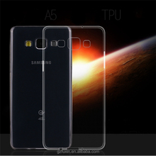 2015 New arrival ultrathin clear tpu case for samsung galaxy A5 case ,Most hot sale cover for galaxy s6 edge plus clear case