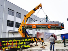 Knuckle Telescopic Boom Crane Cargo lifting Truck Crane