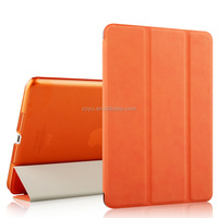 protective tooled leather for ipad case,pu leather case for ipad air