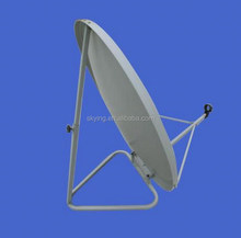 Ku80cm 90cm Solid Dish Antenna Ku Band Satellite Dish Antenna For TV