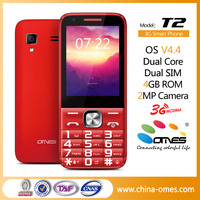 T2 2016 Latest Keypad Touch Screen Dual Sim 3G Android Smartphone