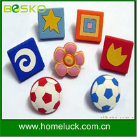 update every month girls drawer knobs,sports drawer knobs,dresser knobs kids manufacturer from China