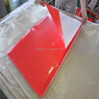 2015 80mic Self Adhesive Color PVC Film for Screen printing