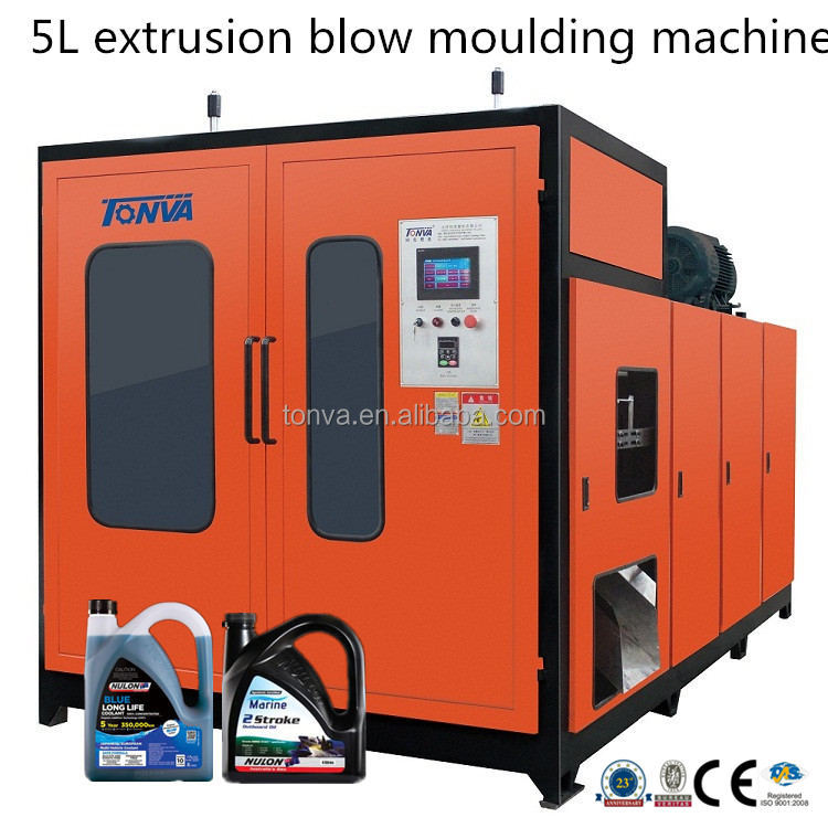 Oil container blow moulding machine for plastic jerry can