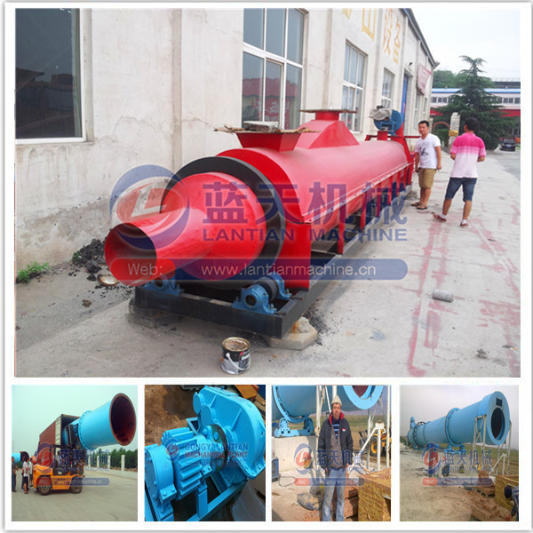 High quality large capacity wood sawdust dryer/wood chip dryer/rotary dryer machine