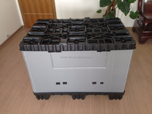 storage and transportation heavy duty plastic logistics crate
