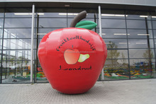 Giant inflatable apple big red apple model decoration advertising inflatable fruits for sale