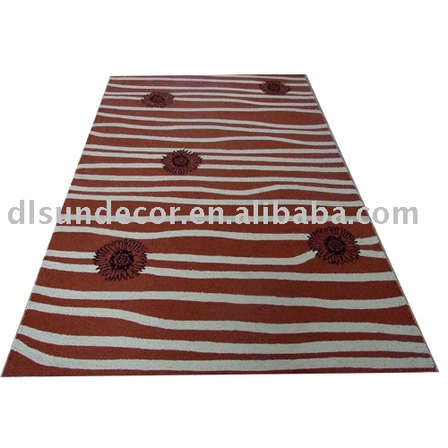 PP hand hooked wholesale outdoor rugs