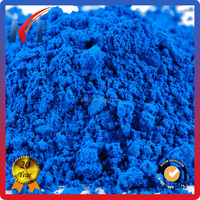 pigment powder iron oxide blue for metallic epoxy floor paint