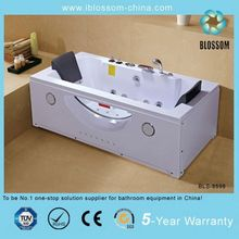 2 people free standing abs material bathtub