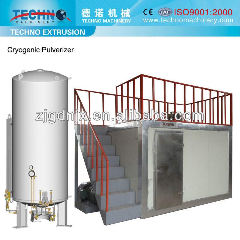 Liquid Nitrogen Pulverizer Provided by Gold Supplier