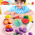 children toys new 2016 style Wooden Magnetic Cutting Vegetables Toy