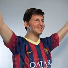 Wholesale Custom Football Player Lionel Messi Lifesize Wax Figure for Sale