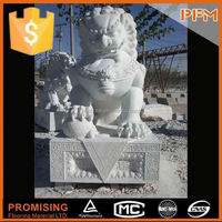 small lion child-angel stone sculpture