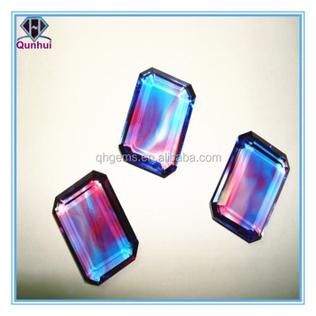 Colorful glass any shaped cabochon stone