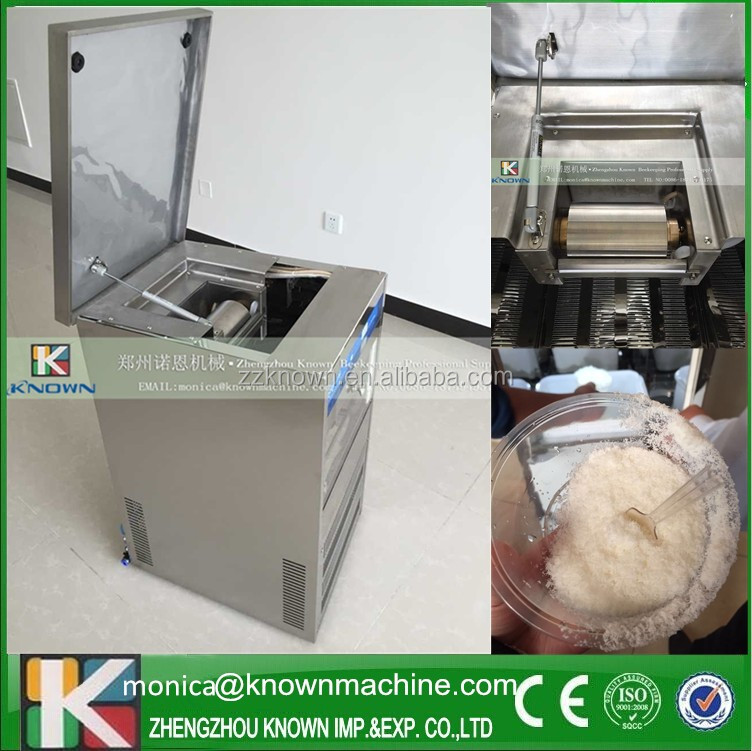industrial Snow Ice Maker Milk Machine/Ice Cream Making Machine